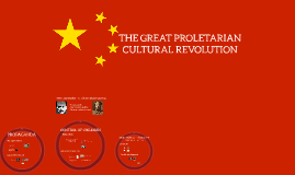 THE GREAT PROLETARIAN REVOLUTION