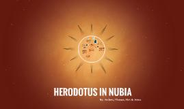 HERODOTUS IN NUBIA