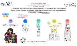 Desarrollo Afectivo en la Relación Maestros y Estudiantes de