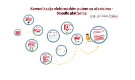 Onlajn komunikacija sa učenicima - primer Moodle