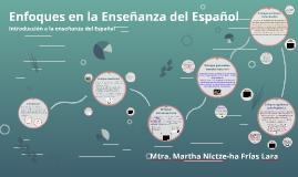 Enfoques en la Enseñanza del Español