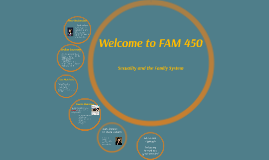 Welcome to FAM 450