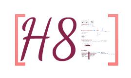 Scheikunde: H8