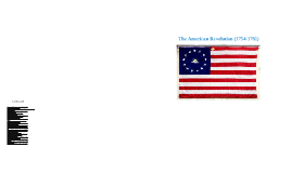 American Revolution (1754-1781)