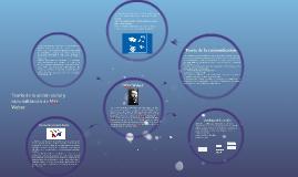 Copy of Teoría de la acción social y racionalización de Max Weber