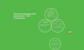Electronic Payments, PCI, and Security with NCR Counterpoint