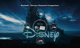 Copy of Macbeth / Disney Character Comparison