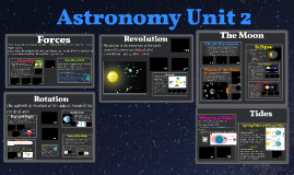 Astronomy Unit 2 Movement