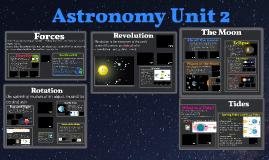 Astronomy Unit 2 Movement