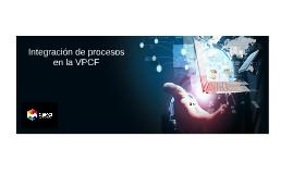 Proyectos de integración en la VPCF