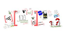 Copy of The Ten Commandments of Event Planning