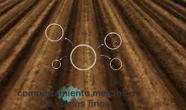 comportamiento mecanico de suelos finos