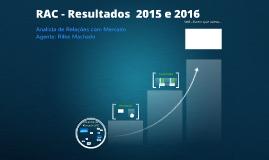 RAC 2016 e 2015