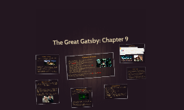 The Great Gatsby: Chapter 9