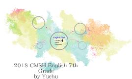 2018 CMSH English 7th Grade