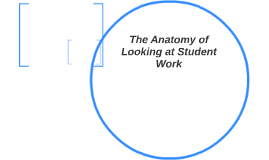 The Anatomy of Looking at Student Work