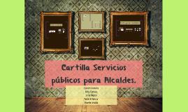 CARTILLA SERVICIOS PUBLICOS