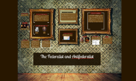 Federalist vs Antifederalist