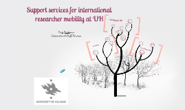 Support Services for Researcher Mobility at UH
