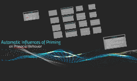 Automatic Influences of Priming