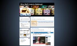 Blue Bell Listeria Outbreak