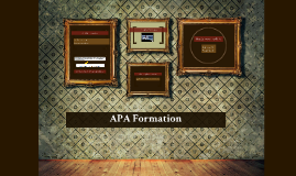 APA Formation