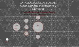 LA POSADA DEL ARRABAL: Autor, Genero, Movimiento y Contexto