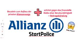Die Allianz StartPolice