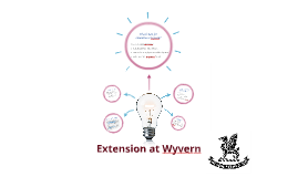 Extension at Wyvern