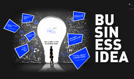TEMPLATE - Business Idea Blue