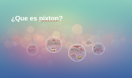 Copy of ¿Que es pixton?