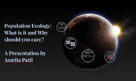 Population Ecology: