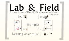 Copy of Lab and Field