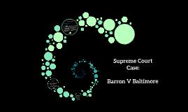 Barron V Baltimore