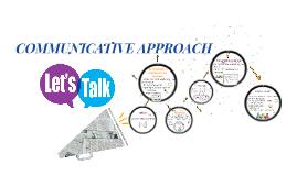 Copia de Communicative approach