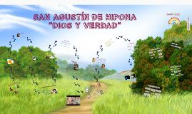 "Copy of SAN AGUSTÍN ""DIOS Y VERDAD"""