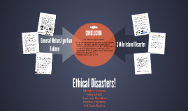 Ethical Disasters