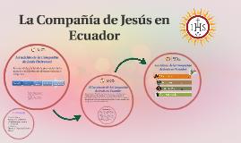 La Compañía de Jesus en Ecuador