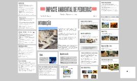 IMPACTE AMBIENTAL DE PEDREIRAS