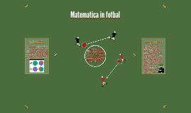 Matematica in fotbal
