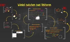 Copy of  Winkel zwischen zwei Vektoren