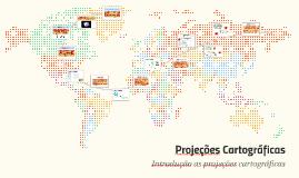 Copy of Noções de Projeções Cartográficas