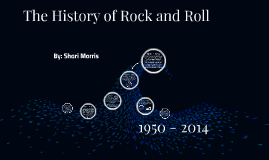 Copy of The History of Rock and Roll