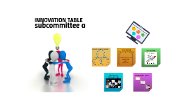 INNOVATION TABLE
