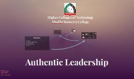 Authentic Leadership