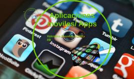 Aplicaciones moviles/ Apps