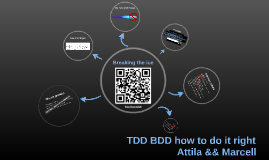 TDD && BDD how to do it right
