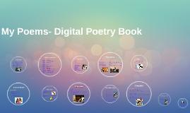 My Poems- Digital Poetry Book