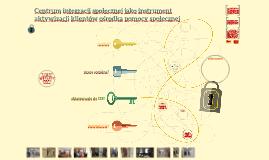 Copy of Centrum Integracji Społecznej jako instrument aktywizacji kl