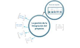 Copy of Integración según PMBOK